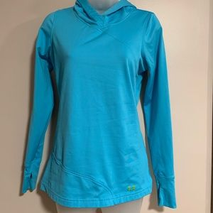 UA cold gear running pull over